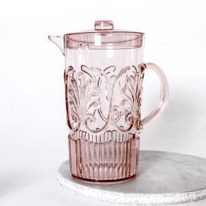 Flemington Acrylic Jug | Pale Pink