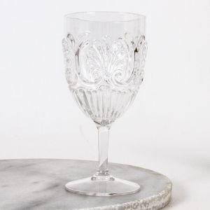 Flemington Acrylic Wine Glass Clear