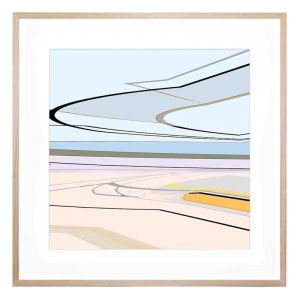 Flight Paths Framed Print By United Interiors