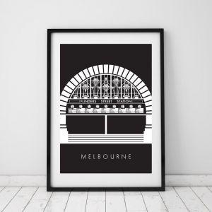 Flinders Street Station | Print