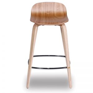 Flip Kitchen Counter Stool | Natural American Ash Seat and Legs