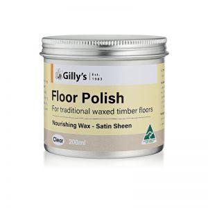 Floor Polish Clear 200ml