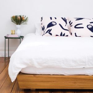 Floral Dreams | Euro Pillowcase Set | Ink & Musk