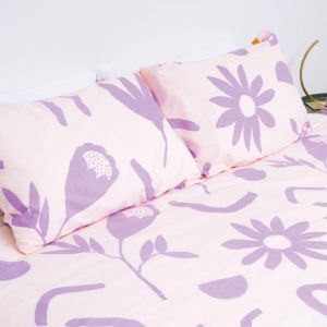 Floral Dreams Pillowcase Set | Lavender & Mustard