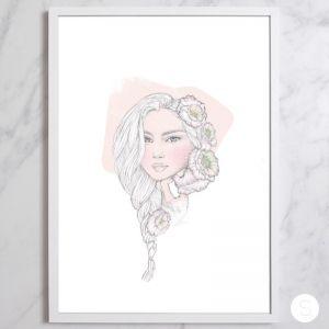 Floral Fling | Fine Art Illustration