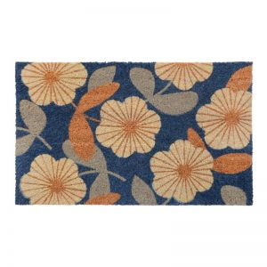 Floral | PVC Backed Doormat | Fab Habitat