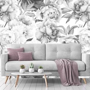 Floral Romance | Full Wall Mural