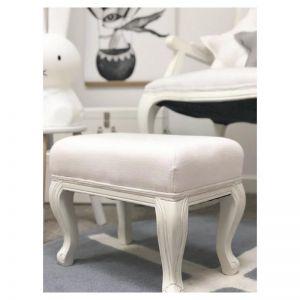 Florence Ottoman White | Rocking Baby