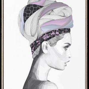 Florence | White | Unframed Print by Brent Rosenberg