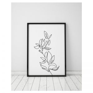 Flourish | Floral Art Print | Framed or Unframed