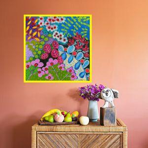 Flower Festival by Gussy Dup | Art Print | Large