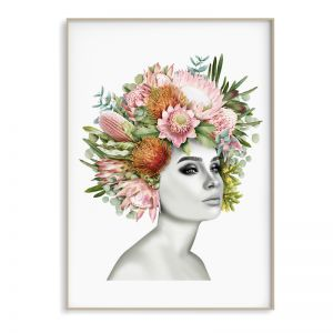 Flower Girl Art Print | Sara Turner