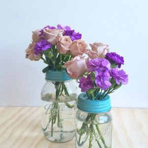 Flower Jar Set | Pale Blue