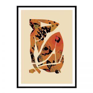 Flower Picasso   Framed Art Print