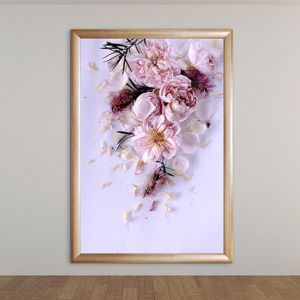 Flower Power Serenade | Soft Pastel Floral Artwork | ACRYLIC Limited Edition Print | Antuanelle