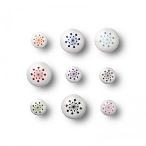 Flower Print Knobs and Hooks | Medium