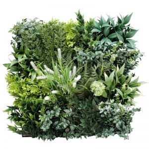 Flowering Bespoke Vertical Garden | Green Wall UV Resistant | Sample | 45cm x 45cm