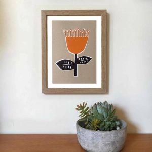 Flowering Gum A4 Art Print | Unframed