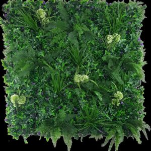 Flowering Hydrangea Jungle Vertical Garden | Green Wall UV Resistant 1m x 1m