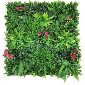 Flowering Lilac Vertical Garden | Green Wall UV Resistant Sample