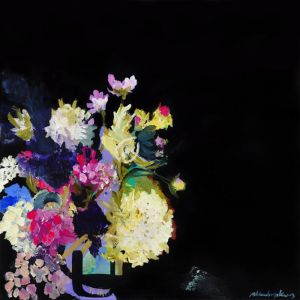 Flowers In The Corner | Limited Edition Print by Ali McNabney-Stevens