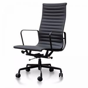 Floyd High Back Office Chair   Full Black