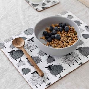 Fluffy Sheep Cork Backed Placemats