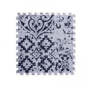Foam Floor Mat | Morocco Navy | by Splash of Salt