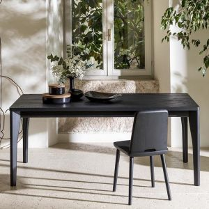 Fold Dining Table | Black | CLU Living