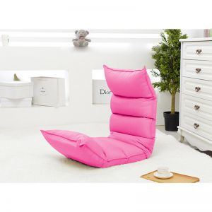 Foldable Tatami Sofa Bed   Pink