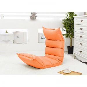 Foldable Tatami Sofa | Orange