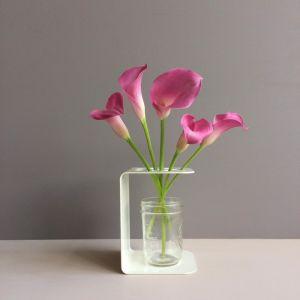 Folded Flower Frame   Cream