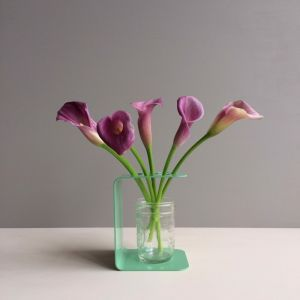 Folded Flower Frame | Mint