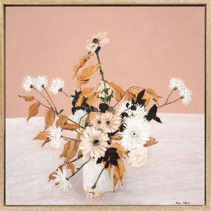 Foliage | Framed Canvas Print | Prudence De Marchi