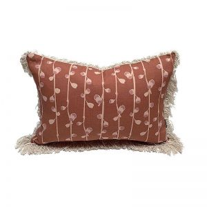 Foraged Gumnuts Cushion With Fringe | By Tim Neve
