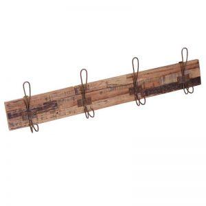 Four Hook Coat Hanger Rust Hooks