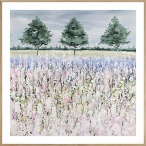 Foxglove Field | Framed Print | P4039-3 | Colour Clash Studio