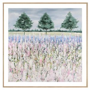 Foxglove Field | Framed Print | P4039-3 | Colour Clash Studio