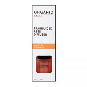 Fragranced Reed Diffuser   Lemongrass & Cedarwood