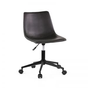 Frankie Office Chair | Black | by Black Mango