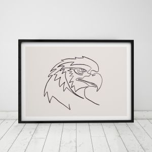 Freedom | Eagle Art Print | Framed or Unframed