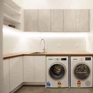 Freedom Kitchens | Laundry Build | Sticks & Wombat