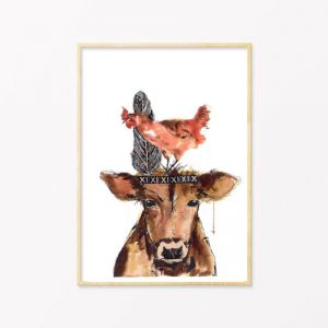 Freerange | Art Print by Grotti Lotti