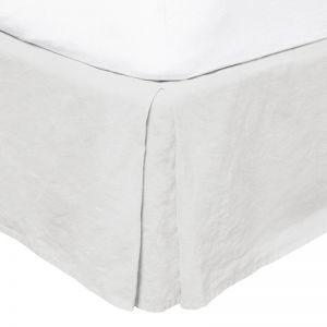 French Flax Linen Valance | Ivory