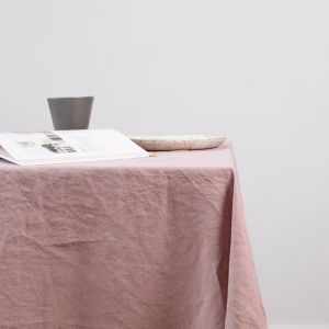 French Linen Grazing Cloth | Ex Large | Dusky Rose