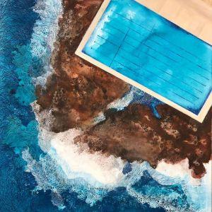Freshwater Ocean Pool 2   Art Print