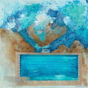 Freshwater Ocean Pool   Art Print