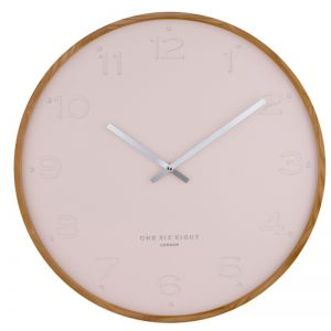 Freya  -  35cm Blush Silent Wall Clock