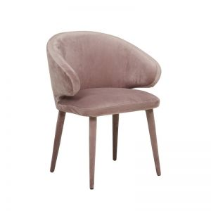 Freya Arm Chair | Dusty Mauve