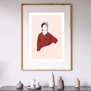 Frida | Art Print | Unframed